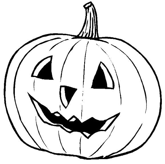 Coloriage et dessins gratuits Citrouille d'Halloween pour impression à imprimer