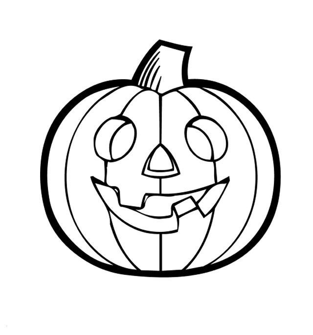 Coloriage et dessins gratuits Citrouille pour Halloween à imprimer
