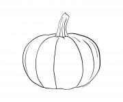 Coloriage dessin  Halloween Citrouille 2