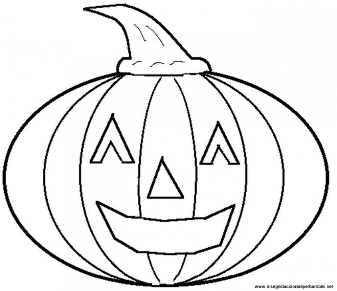 Coloriage et dessins gratuits Halloween Citrouille en Ligne à imprimer