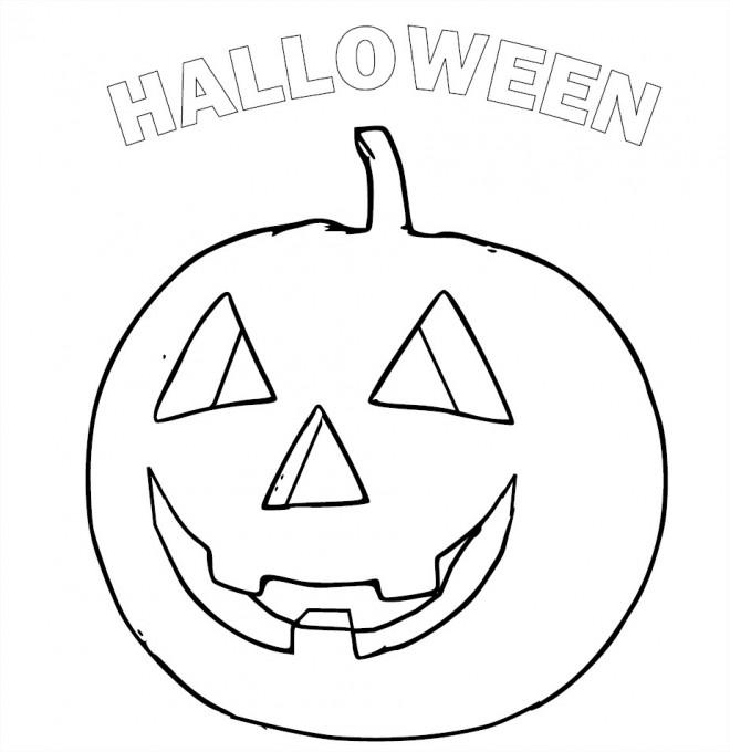 Coloriage et dessins gratuits Halloween maternelle à imprimer
