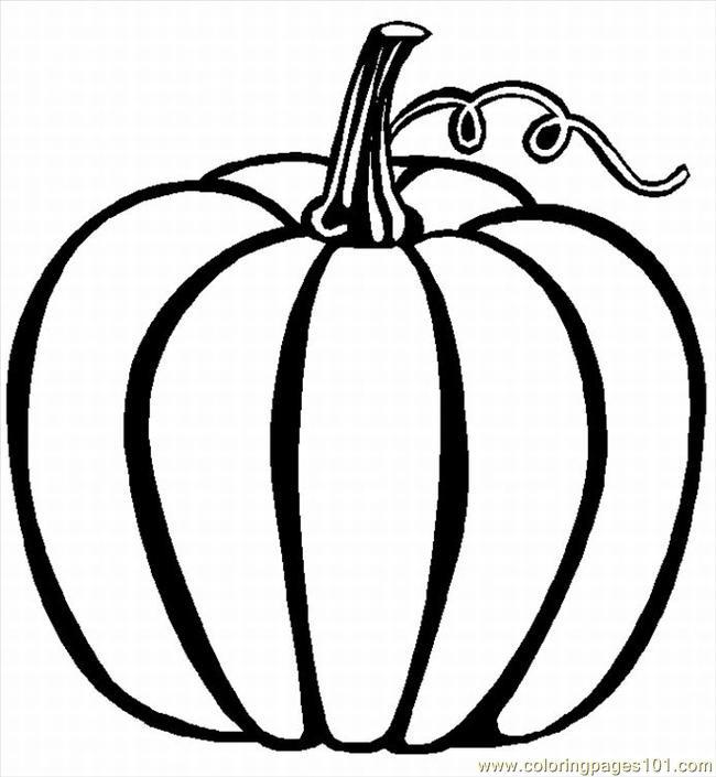 Coloriage et dessins gratuits Une Citrouille à découper à imprimer