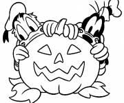 Coloriage Halloween Disney