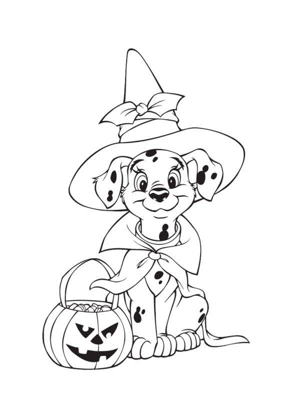 bordures de pages halloween coloring - photo#42