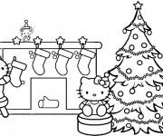 Coloriage La Décoration pour Noel