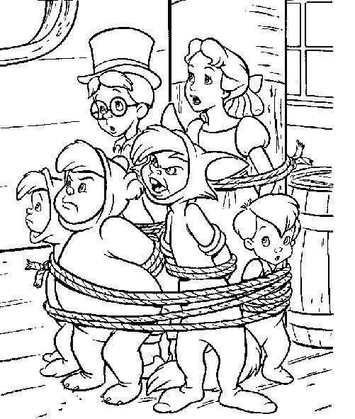 Coloriage et dessins gratuits Héros de Disney maternelle à imprimer