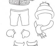 Coloriage dessin  Hiver Maternelle 20
