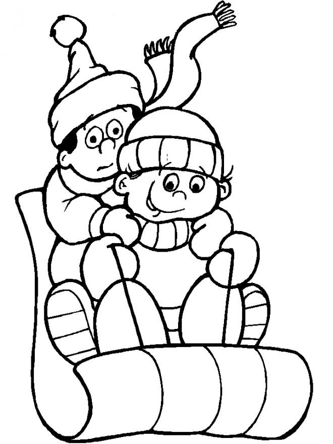 Coloriage et dessins gratuits Hiver Neige 40 à imprimer