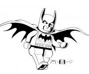 Coloriage et dessins gratuit Lego Batman à colorier à imprimer