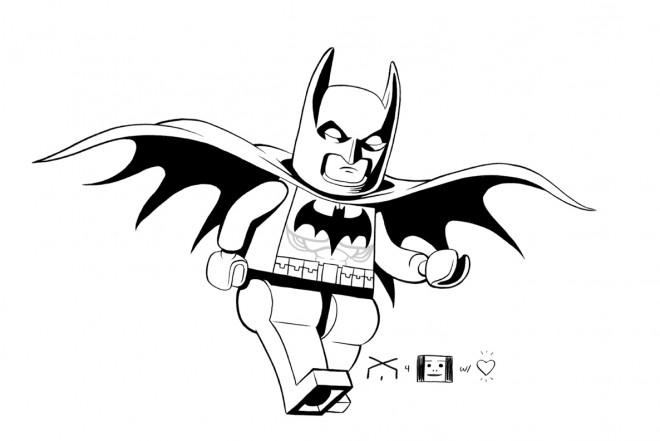Coloriage et dessins gratuits Lego Batman à colorier à imprimer