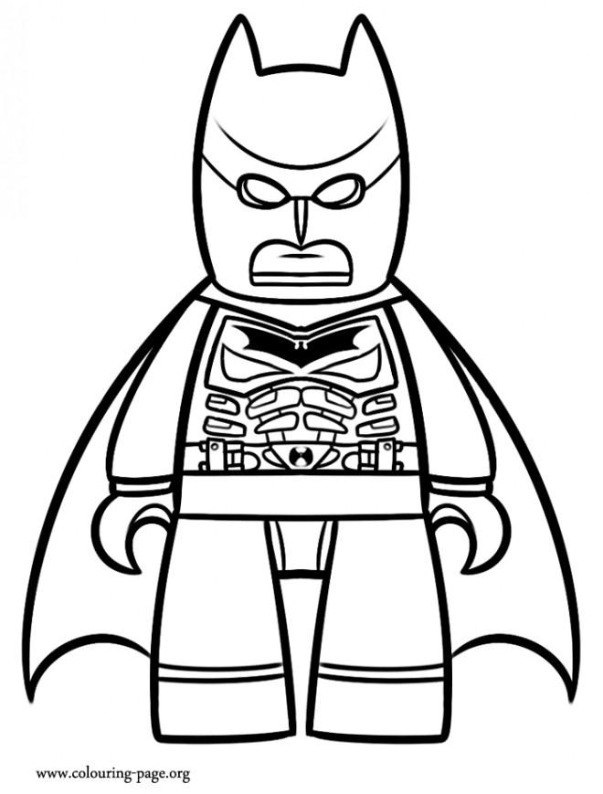 Coloriage et dessins gratuits Lego Batman dessin animé à imprimer