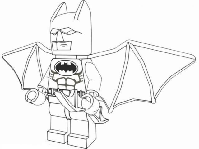 Coloriage Lego Batman En Couleur Dessin Gratuit A Imprimer
