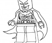 Coloriage Lego Batman facile