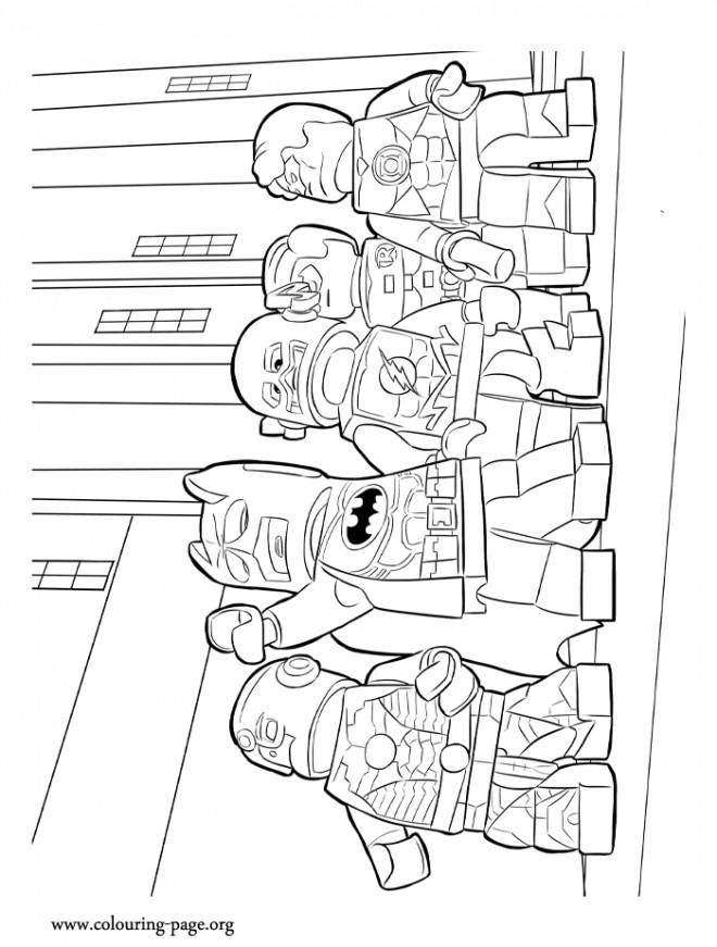 Coloriage et dessins gratuits Lego Batman Film pour enfant à imprimer