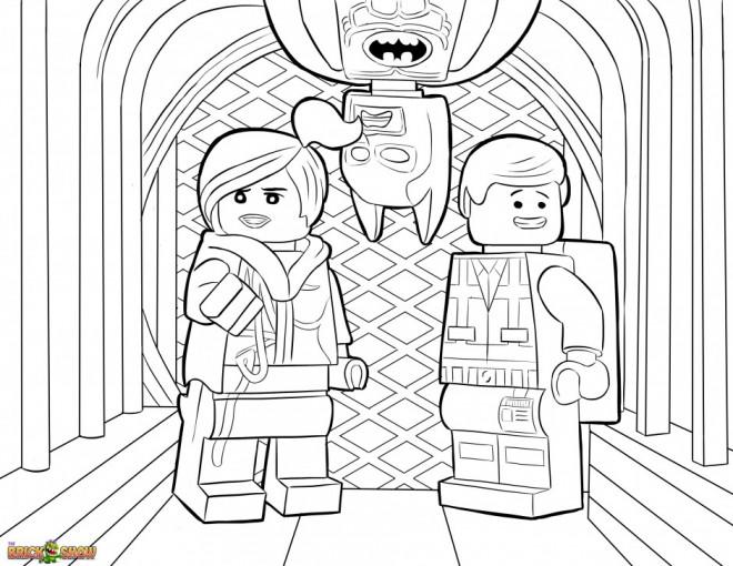 Coloriage et dessins gratuits Lego Batman Le Film à imprimer