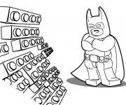 Coloriage et dessins gratuit Lego Batman maternelle à imprimer
