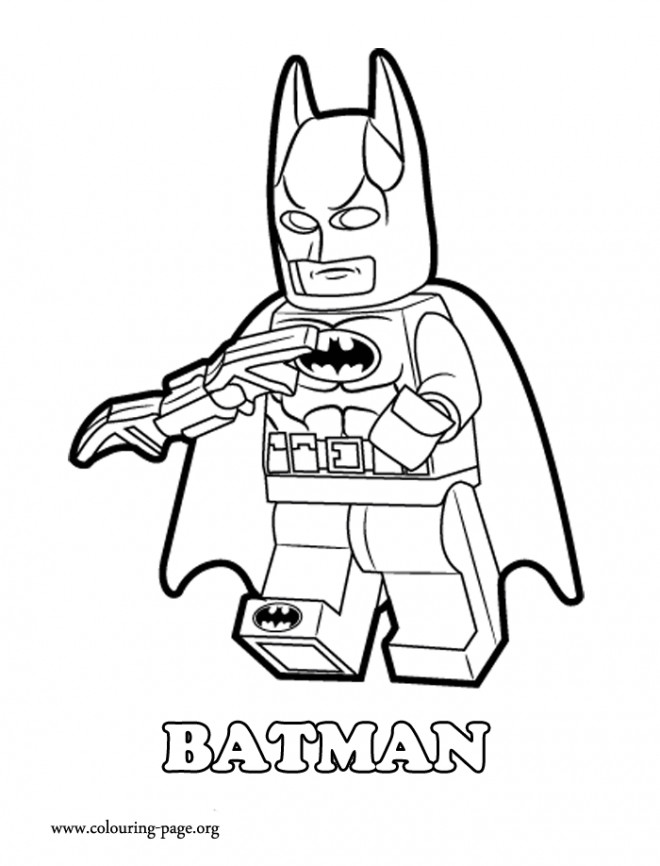 Coloriage et dessins gratuits Lego Batman pour enfant à imprimer