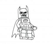 Coloriage et dessins gratuit Lego Batman pour garçon à imprimer
