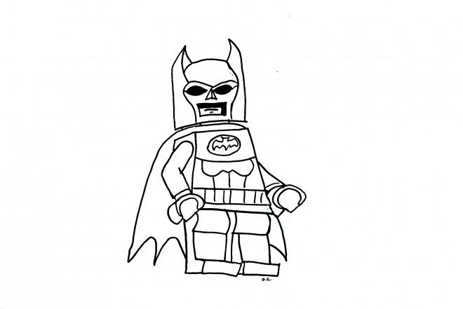 Coloriage et dessins gratuits Lego Batman pour garçon à imprimer