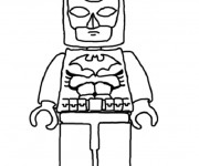 Coloriage et dessins gratuit Lego Batman simple à imprimer