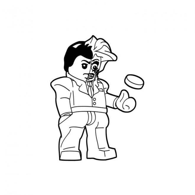 Coloriage et dessins gratuits Lego Joker facile à imprimer
