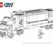 Coloriage Lego City 11