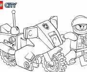 Coloriage Lego City 16