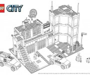 Coloriage Lego City 17