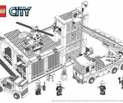 Coloriage Lego City 9