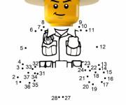 Coloriage Lego City à compléter
