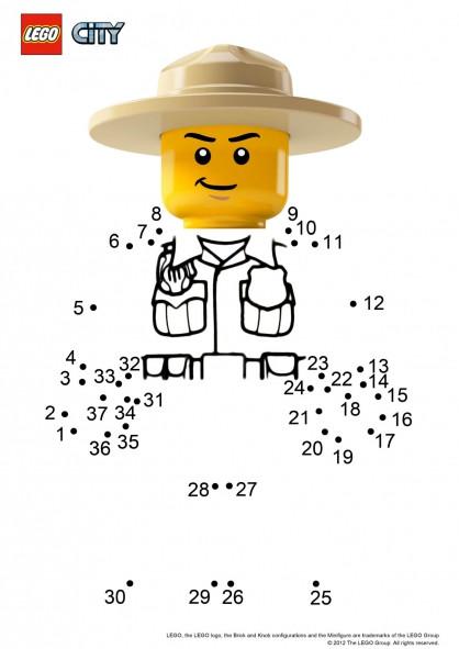 Coloriage lego city compl ter dessin gratuit imprimer - Coloriage personnage lego ...