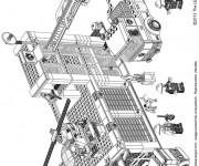 Coloriage Lego City Architecture