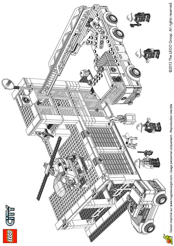Coloriage et dessins gratuits Lego City Architecture à imprimer