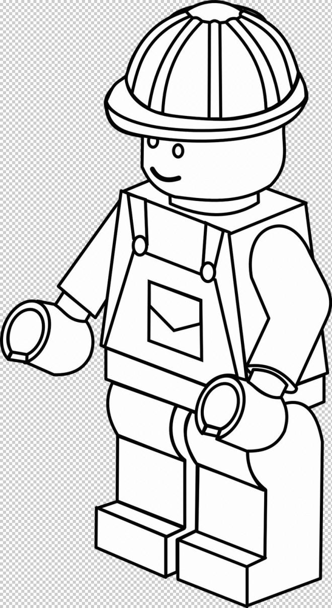 Coloriage et dessins gratuits Lego City Ingénieur à imprimer