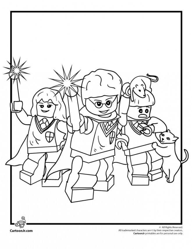 Coloriage et dessins gratuits Lego City Personnages pour enfant à imprimer