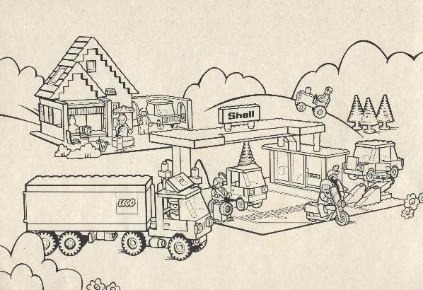 Coloriage lego city stylis dessin gratuit imprimer - Dessin de lego city ...