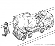 Coloriage Lego City Travaux