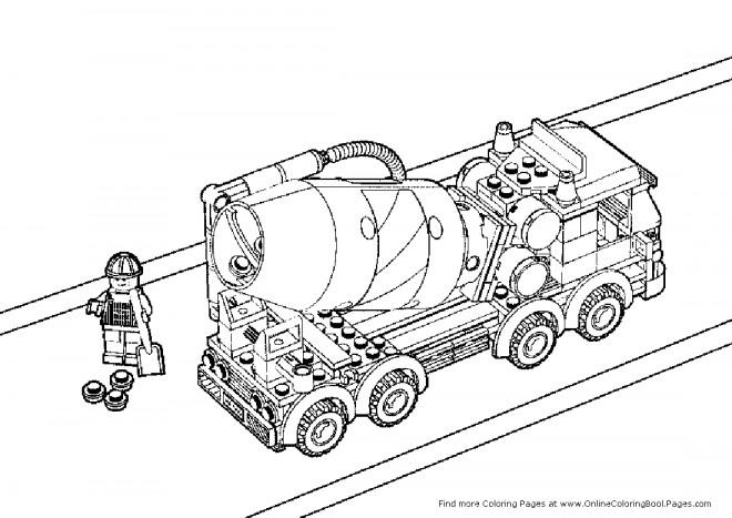 Coloriage lego city travaux dessin gratuit imprimer - Lego city a colorier ...