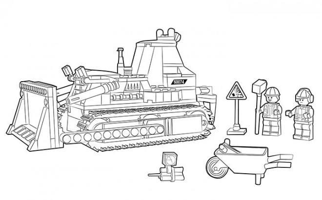 coloriage lego city travaux et construction dessin gratuit imprimer. Black Bedroom Furniture Sets. Home Design Ideas