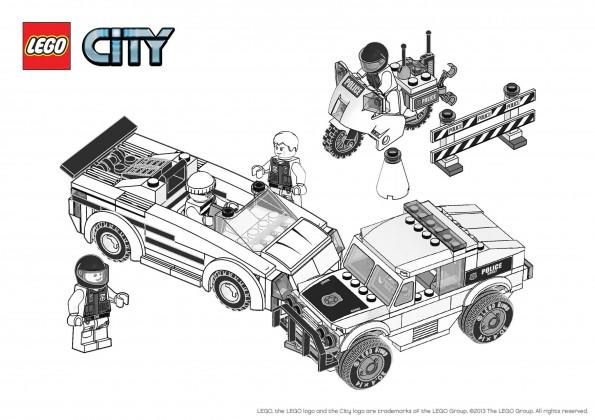 Coloriage Lego City Véhicules Pour Enfant Dessin Gratuit à