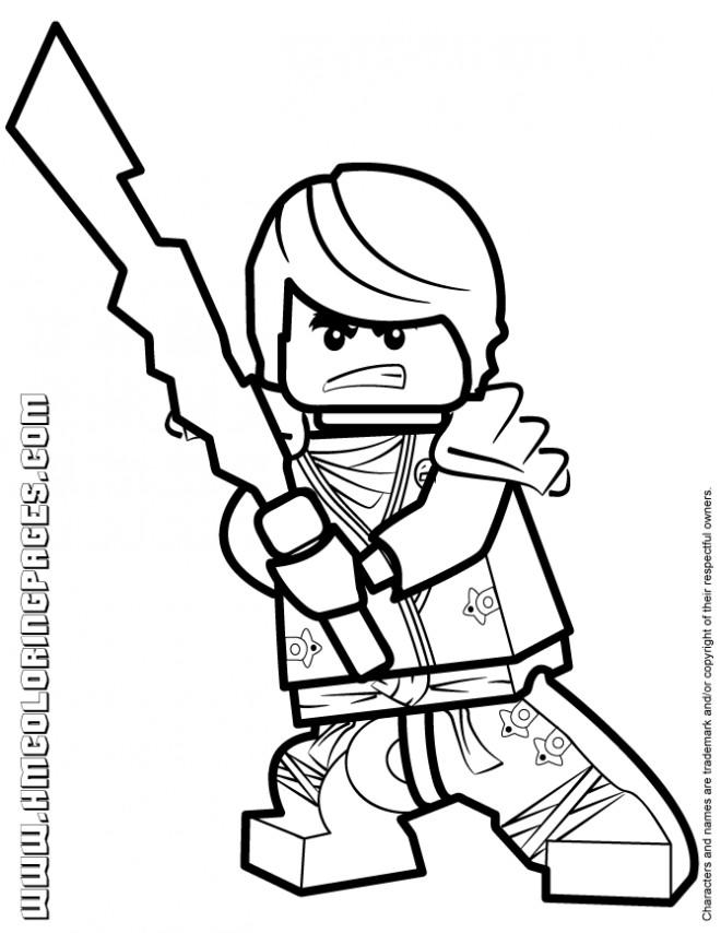 Coloriage lego ninjago d couper dessin gratuit imprimer - Coloriage ninjago lego a imprimer ...
