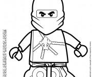 Coloriage Lego Ninjago Cole
