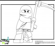 Coloriage et dessins gratuit Lego Ninjago Disney à imprimer