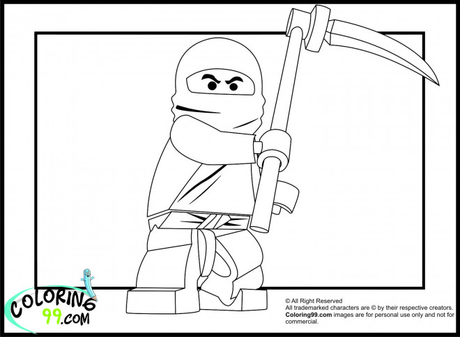 Coloriage et dessins gratuits Lego Ninjago Disney à imprimer