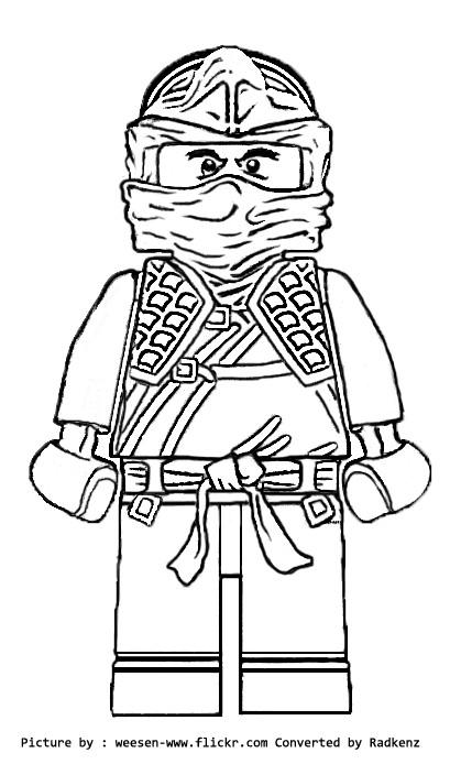 Coloriage lego ninjago en noir et blanc dessin gratuit imprimer - Dessin de lego ninjago ...