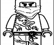Coloriage Lego Ninjago facile