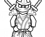 Coloriage et dessins gratuit Lego Ninjago Llyod à imprimer