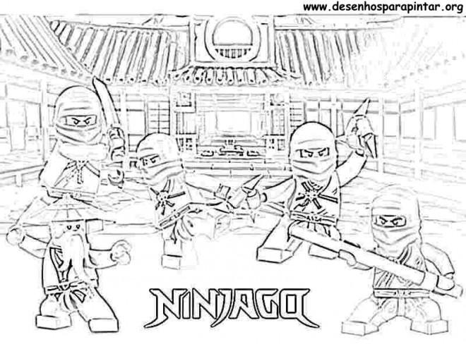 Coloriage lego ninjago logo dessin gratuit imprimer - Dessiner un ninja ...