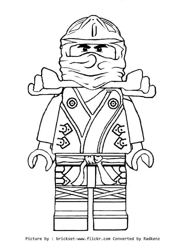 Coloriage lego ninjago movie dessin gratuit imprimer - Dessiner un ninja ...