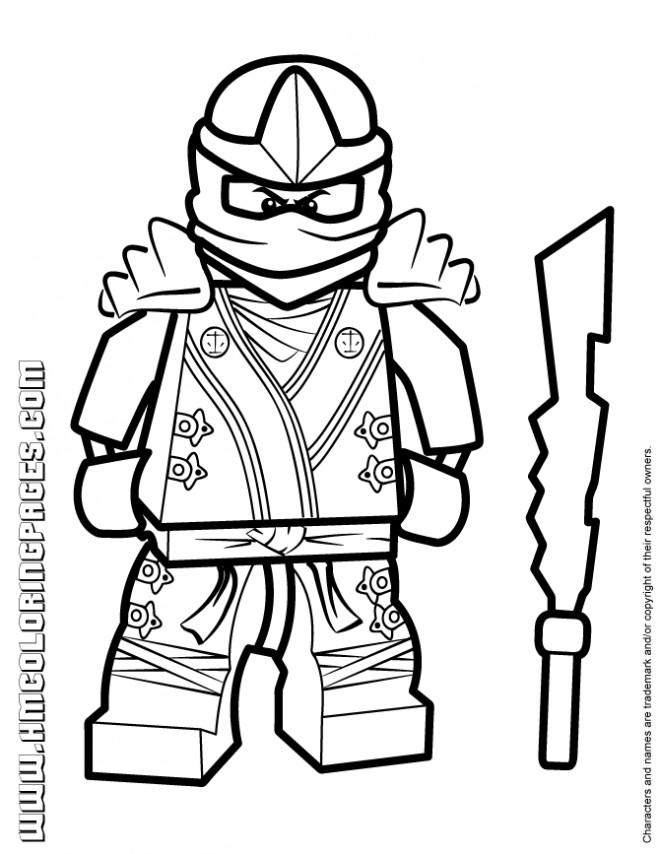 Coloriage lego ninjago pour enfant dessin gratuit imprimer - Coloriage ninjago gratuit ...